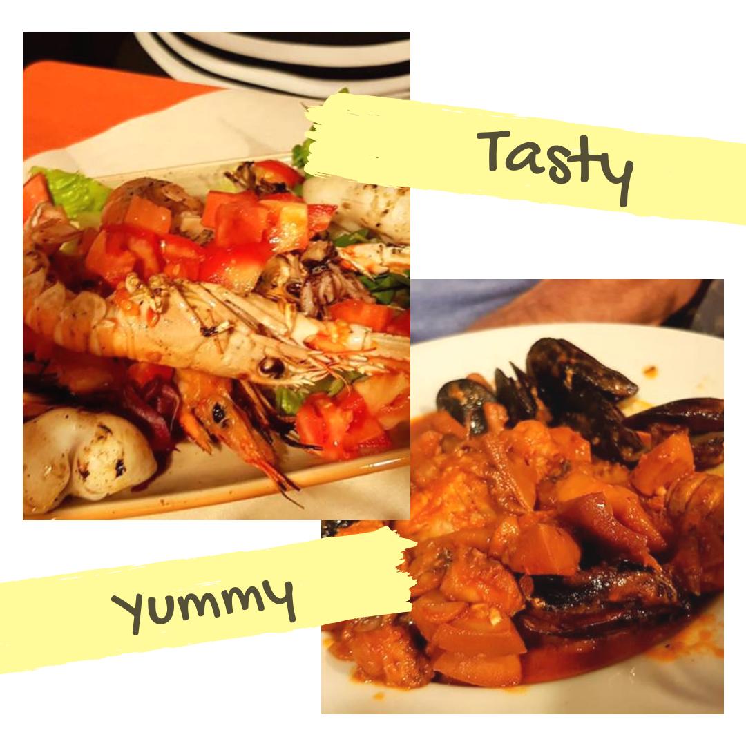 Ristorante con specialità di pesce e pizzeria